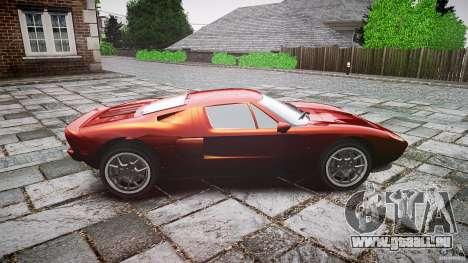 Ford GT für GTA 4 Innenansicht