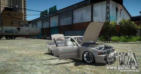 BMW 530i E39 für GTA 4 hinten links Ansicht
