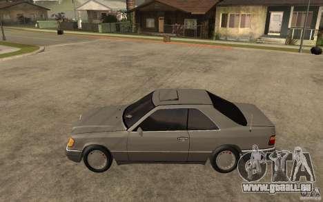 Mercedes-Benz E320 C124 pour GTA San Andreas laissé vue