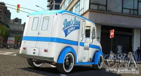 Ford Divco Milk and Icecream Van 1955-56 für GTA 4 linke Ansicht