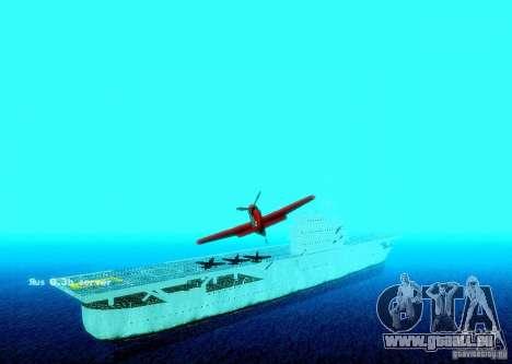 Battle Ship pour GTA San Andreas quatrième écran