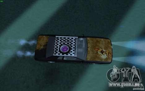 Elegy Rat by Kalpak v1 pour GTA San Andreas vue arrière