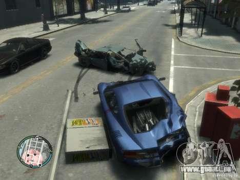 Dégâts voiture réaliste pour GTA 4