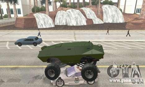 Trail Monster V.1.0 für GTA San Andreas Innenansicht