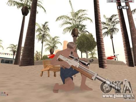 Woody Weapons Pack für GTA San Andreas her Screenshot