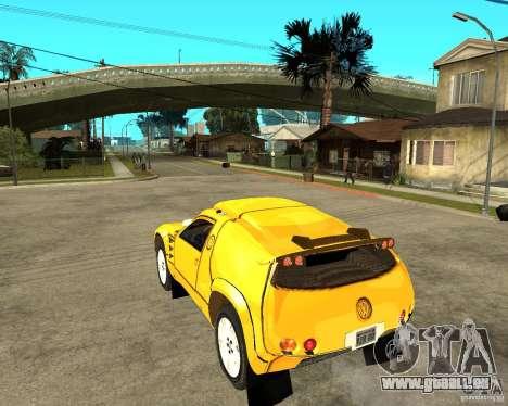 Volkswagen Touareg pour GTA San Andreas laissé vue
