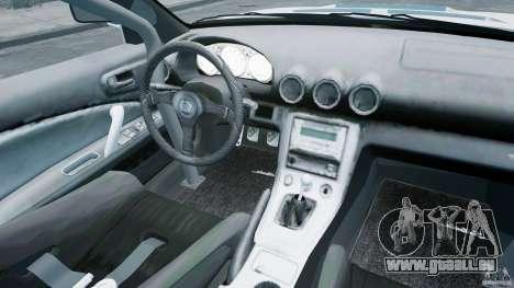Nissan Silvia S15 pour GTA 4 est une vue de l'intérieur