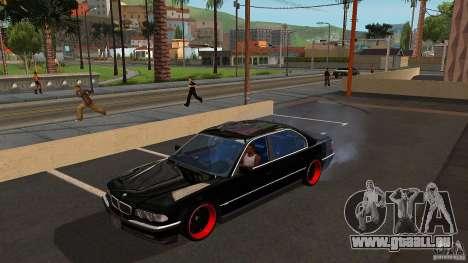 BMW E38 750LI pour GTA San Andreas