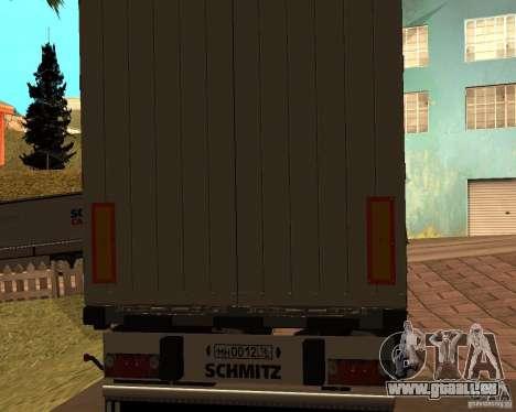 Schmitz pour GTA San Andreas laissé vue