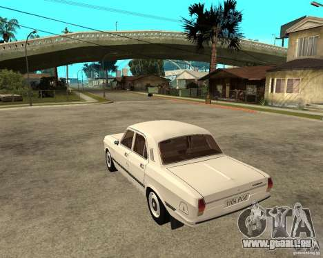 Volga Gaz 24-10 051 für GTA San Andreas linke Ansicht