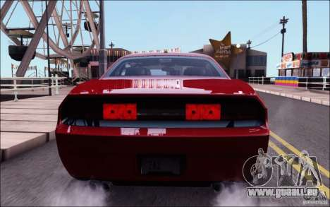 Dodge Challenger Rampage Customs pour GTA San Andreas vue de côté