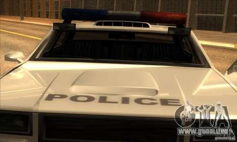 Police Hero v2.1 pour GTA San Andreas sur la vue arrière gauche