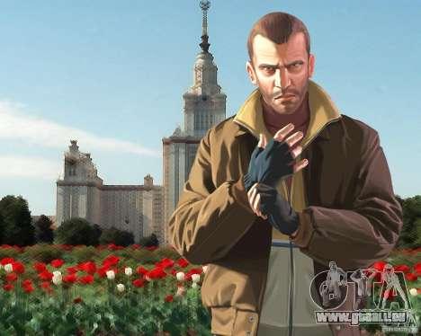 Écran de démarrage de la Russie en Amérique pour GTA 4 secondes d'écran