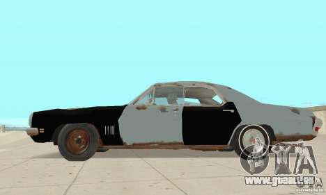Pontiac LeMans 1970 Scrap Yard Edition für GTA San Andreas zurück linke Ansicht