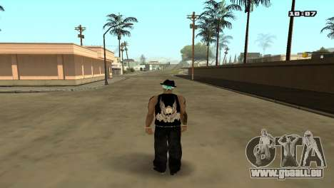 Skin Pack The Rifa pour GTA San Andreas