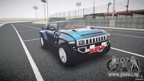 Hummer HX für GTA 4 Rückansicht