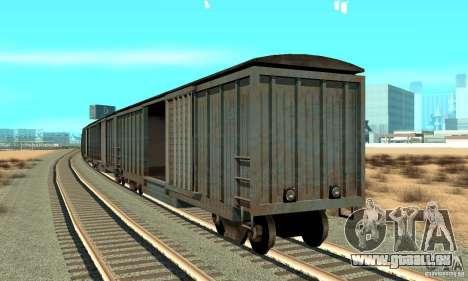 Wagon pour GTA San Andreas sur la vue arrière gauche