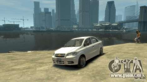 Chevrolet Aveo 2007 für GTA 4 linke Ansicht
