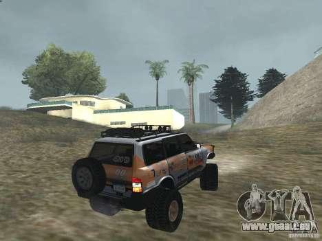 Tornalo 2209SX 4x4 pour GTA San Andreas laissé vue