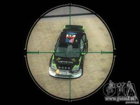Fusil VSS Vintorez pour GTA San Andreas cinquième écran