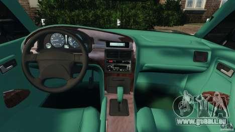 Daewoo Bucrane Concept 1995 pour GTA 4 Vue arrière