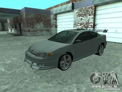 Saturn Ion Quad Coupe 2004 für GTA San Andreas Innen