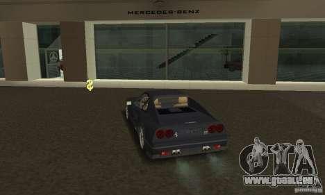 Ferrari 328 GTB pour GTA San Andreas laissé vue