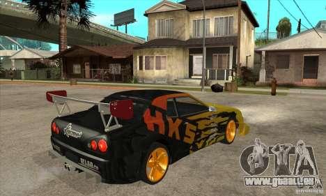 Tuneable Elegy v0.1 pour GTA San Andreas vue de droite