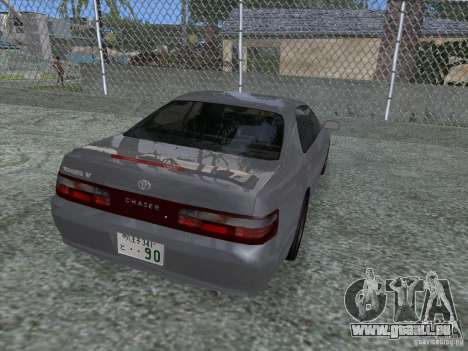 Toyota Chaser JZX90 Stock pour GTA San Andreas laissé vue