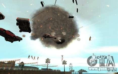 Trou noir pour GTA San Andreas deuxième écran