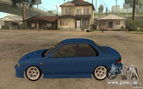 Subaru Impreza GC8 JDM SPEC pour GTA San Andreas laissé vue