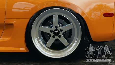 Toyota Supra Tuning pour GTA 4 est une vue de dessous