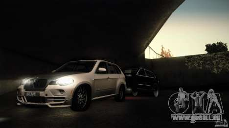 BMW X5 with Wagon BEAM Tuning pour GTA San Andreas laissé vue