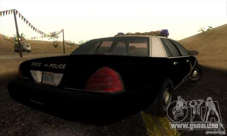 Ford Crown Victoria Idaho Police für GTA San Andreas linke Ansicht