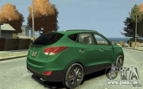 Hyundai IX35 2010 Beta für GTA 4 rechte Ansicht