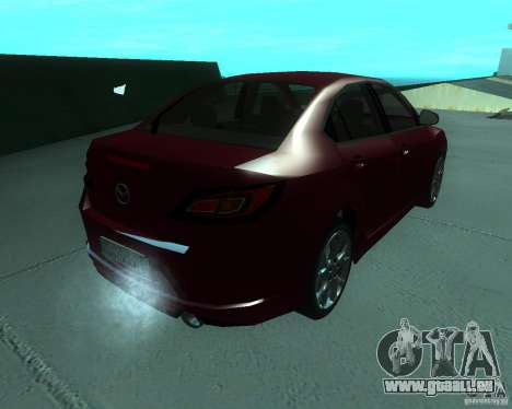 Mazda 6 2010 für GTA San Andreas linke Ansicht