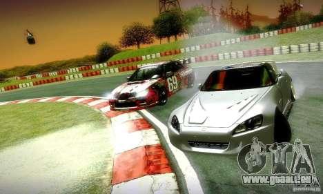 Honda S2000 Street Tuning für GTA San Andreas Seitenansicht