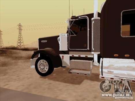 Kenworth W900 Long für GTA San Andreas Rückansicht