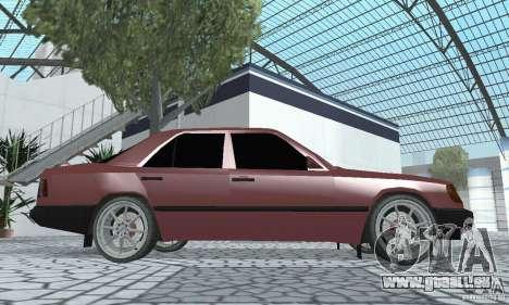 Mercedes-Benz 200D für GTA San Andreas rechten Ansicht