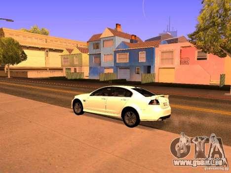 Chevrolet Lumina pour GTA San Andreas sur la vue arrière gauche