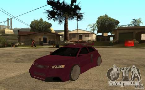 Audi A3 Tuned pour GTA San Andreas