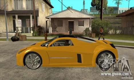 Chrysler ME Four-Twelve Concept pour GTA San Andreas laissé vue