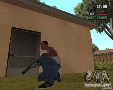 Black Chrome Eagle für GTA San Andreas