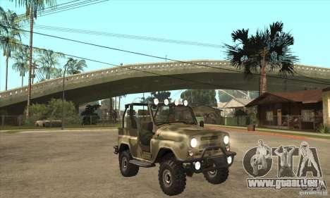 UAZ-3150 varmint pour GTA San Andreas vue arrière