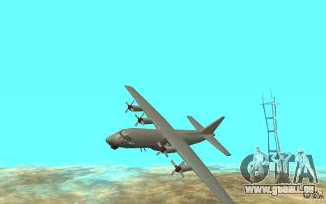 C-130H Spectre pour GTA San Andreas laissé vue