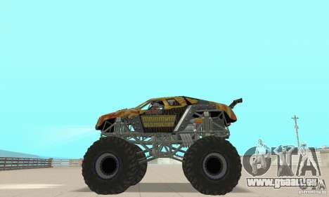 Monster Truck Maximum Destruction pour GTA San Andreas vue de droite