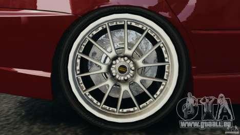 Mitsubishi Lancer Evolution 8 pour GTA 4 est une vue de l'intérieur