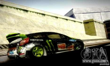 Ford Fiesta Gymkhana 5 für GTA San Andreas rechten Ansicht
