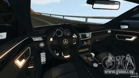 Mercedes-Benz E63 AMG 2010 pour GTA 4 Vue arrière