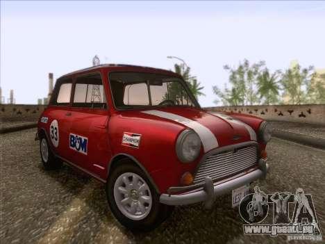 Austin Cooper S 1965 für GTA San Andreas Seitenansicht